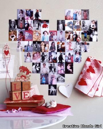 Коллаж с днем святого валентина своими руками