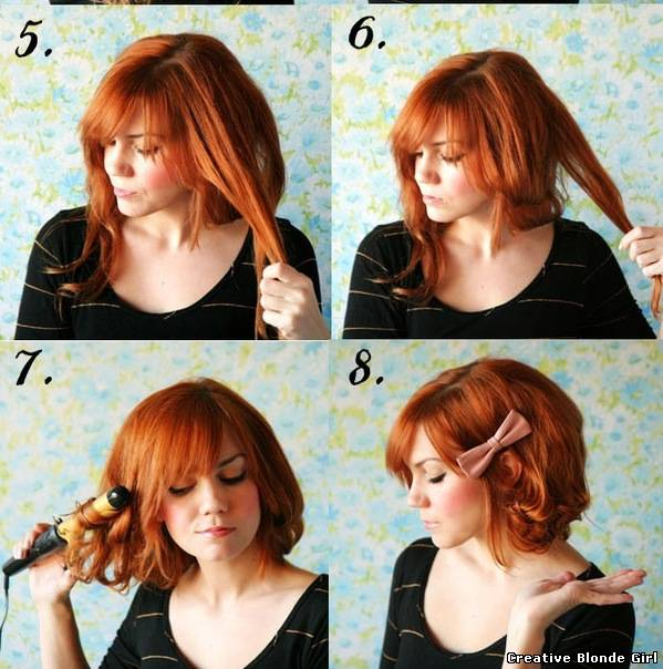 Причёски для клуба на короткие волосы