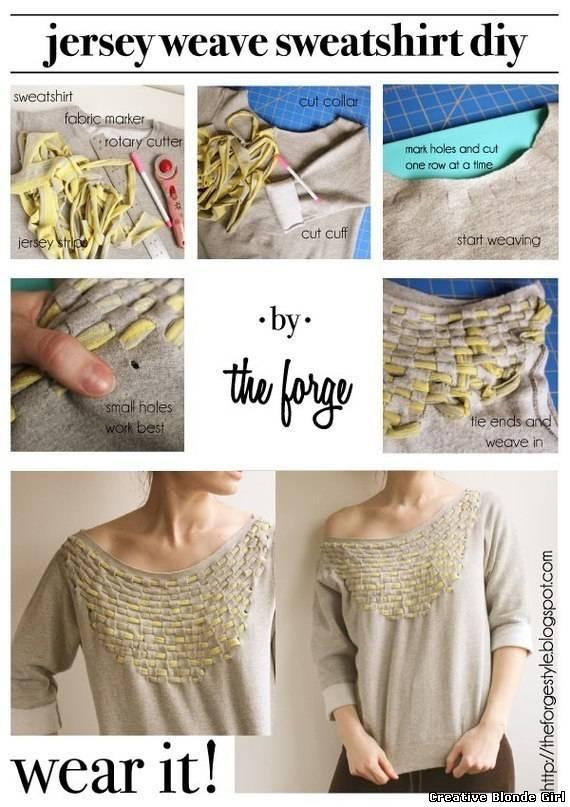 Как сделать свитер больше